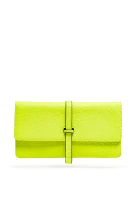 Citrus Leyla Clutch by Annabel Ingall