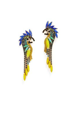 Daya Bird Earrings by Elizabeth Cole