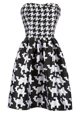 BOUTIQUE MOSCHINO - Houndstooth Dress
