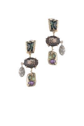 Multi Statement Earrings by Alexis Bittar