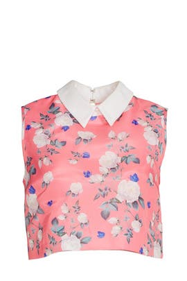 Hibiscus Floral Top by ERIN erin fetherston