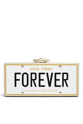 Forever License Plate Clutch by kate spade new york accessories