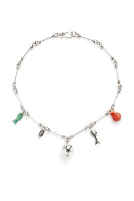 Demeter Charm Necklace by Pamela Love