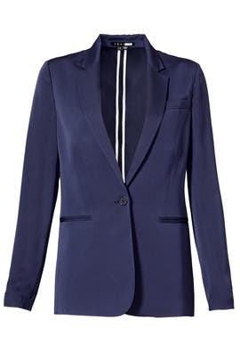 Navy Grinson Blazer by Theory
