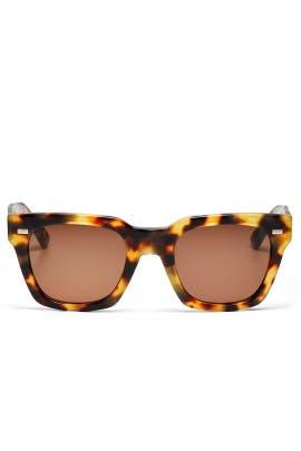 Square Tortoise Sunglasses by Gucci