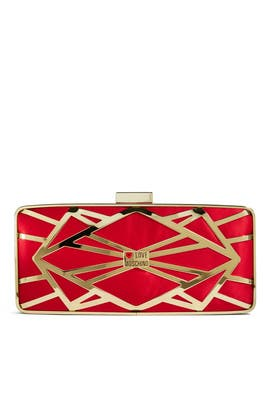 Love Moschino Accessories - Fracture Clutch