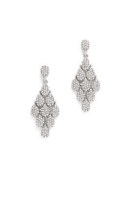 Shimmering Drop Earrings by RJ Graziano