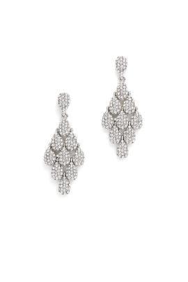 Shimmering Drop Earrings by RJ Graziano