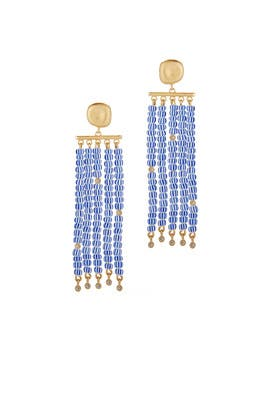 Blue James Earrings by Elizabeth and James Accessories
