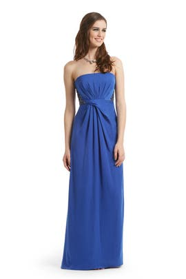 BCBGMAXAZRIA - Deep Blue Sea Gown