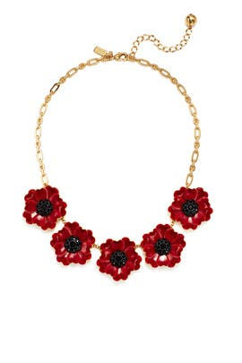 Precious Poppies Necklace by kate spade new york accessories