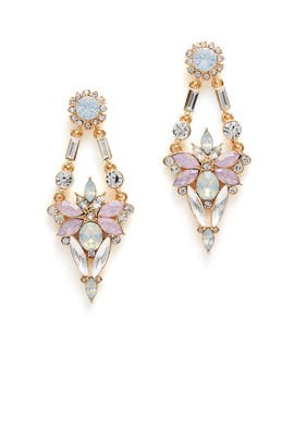 Blush Crystal Spark Earrings by RJ Graziano