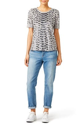 Slither Tee by Rebecca Taylor