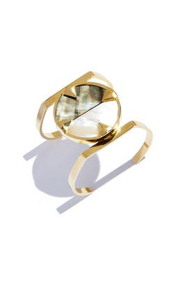 Graphic Compass Cuff  by Sarah Magid