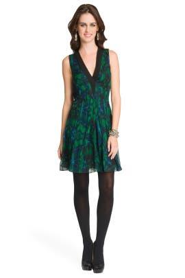 Proenza Schouler - Kaleidoscope Floral Dress