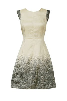 Champagne Shower Dress by Halston Heritage