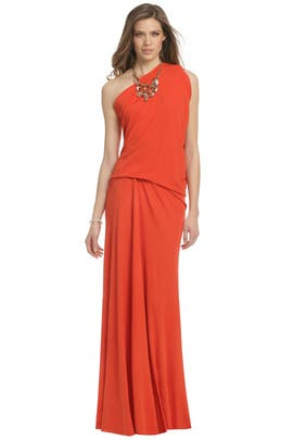 Plein Sud - Melting Lava Gown