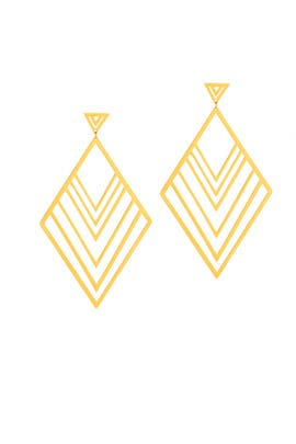 Liv Tiered Drop Earrings by Gorjana Accessories