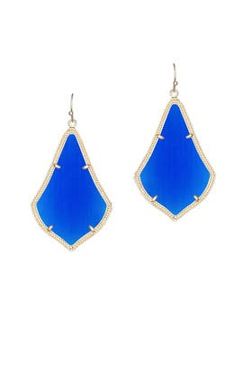 Kendra Scott - Cobalt Alexandra Earrings