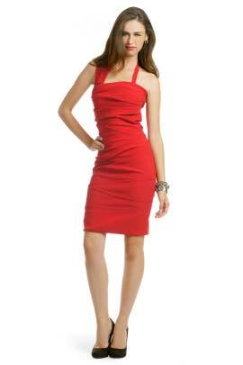 Preen - Red Sandstorm Dress