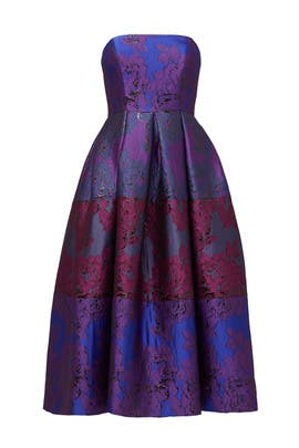 Purple Palace Dress by Cynthia Rowley