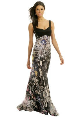 Giles - Smashed Jewel Gown