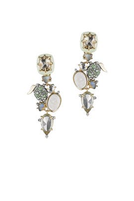 Lime Stone Earrings by Alexis Bittar