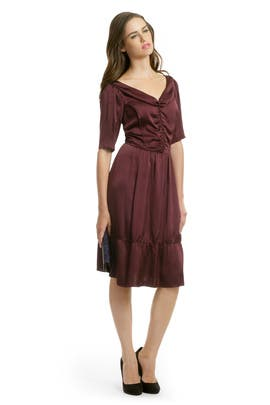 Nina Ricci - Victoria Satin Dress