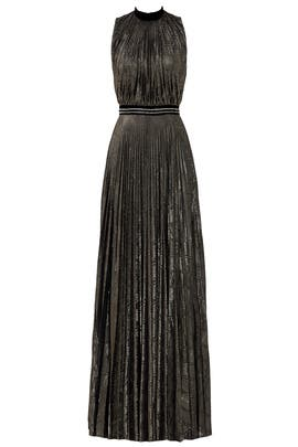 Silver Morgan Gown by Blumarine