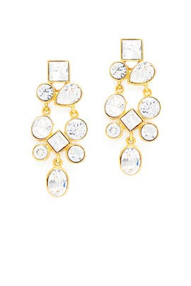 Gigi Earrings by Kenneth Jay Lane