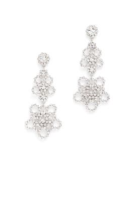 Crystal Lace Earrings by kate spade new york accessories