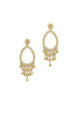 Riley Beaded Drop Earrings by Rebecca Minkoff Accessories