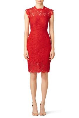 Rouge Suzette Dress
