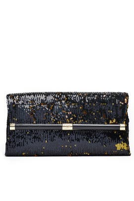 Sequined Envelope Clutch by Diane von Furstenberg Handbags