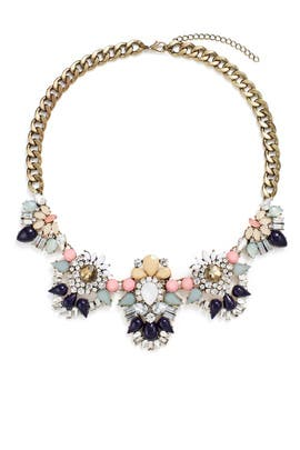 Pastel Bouquet Necklace by Slate & Willow Accessories