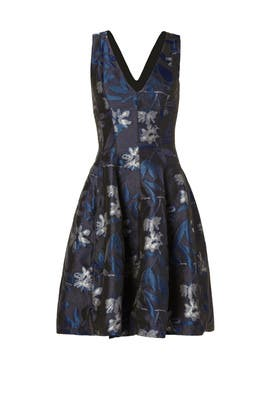 Halston Heritage - Jasmine Rainwater Dress