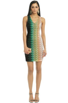 Missoni - Riding Ombre Waves Dress