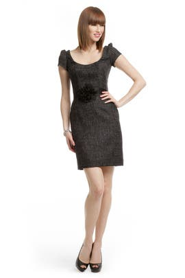 Peter Soronen - Black Tweed Sheath