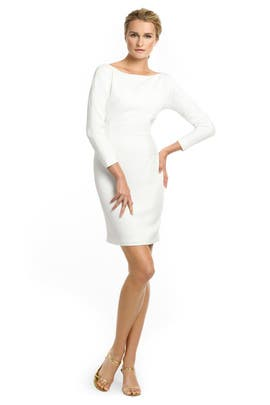 White Tex Dress by Rachel Roy