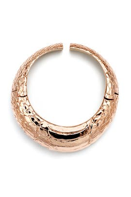 Reptile Choker by Cedric Charlier