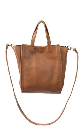 Tan Moss Mini Tote by Cleobella Handbags