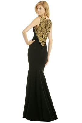 Theia - Golden Blossom Gown