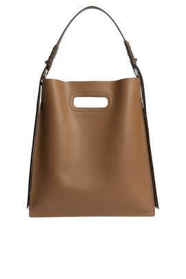 Brown Voltaire Hobo Bag by AllSaints