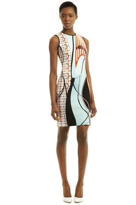 Clover Canyon - Palm Springs Print Dress