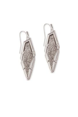 Platinum Bex Earrings by Kendra Scott