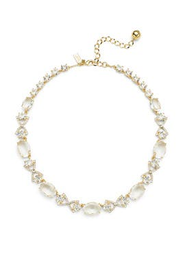 Gold and Crystal Special Occasion Necklace by kate spade new york accessories
