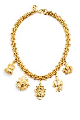 Royal Charm Necklace by Ben-Amun