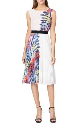 Zhanna Pleated Dress by BCBGMAXAZRIA