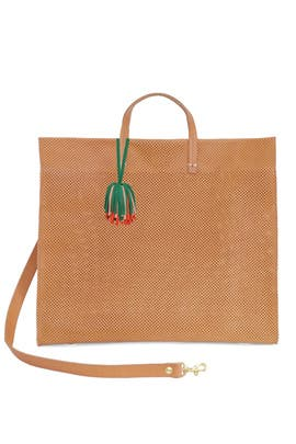Natural Tassel Tote by Clare V.