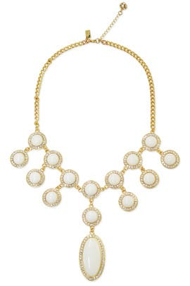 Resort White Stone Necklace by Lilly Pulitzer Accessories